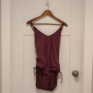 Maroon Time and Tru One Piece Size 16/18